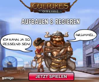 Top kostenloses Browserspiel: Cultures Online