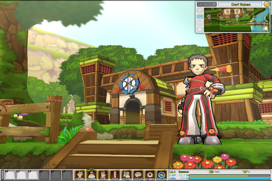 Screenshot von ElSword