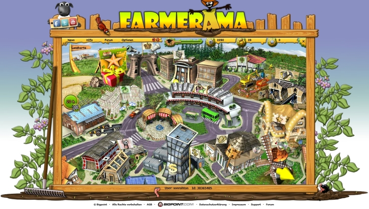 Farmerama Screenshot Gross